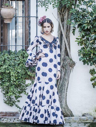 Traje de flamenca Jazmín