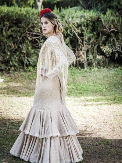 Traje de flamenca Lila