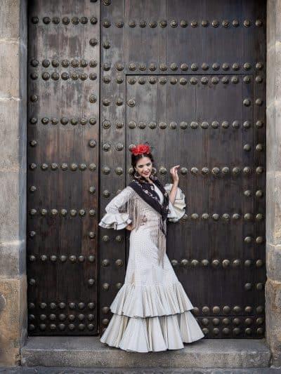 Traje de flamenca Lilia