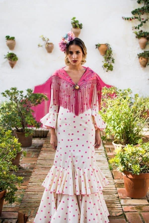 Traje de flamenca Rosa