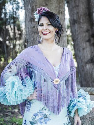 Traje de flamenca Rosalía