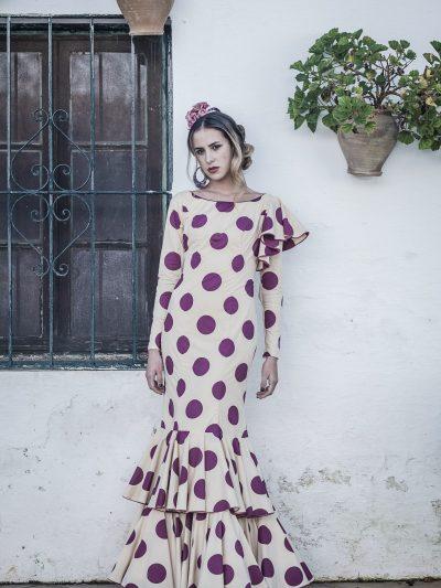Traje de flamenca Verónica