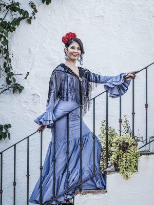 Traje de flamenca Violeta